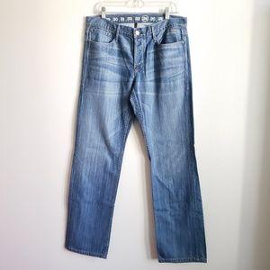 Lacoste Earnest Sewn Straight Leg Jean